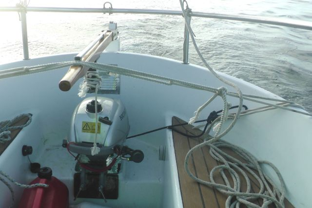 Honda 2.3 in 23 foot yacht