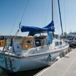 Westerly Centaur on pontoon