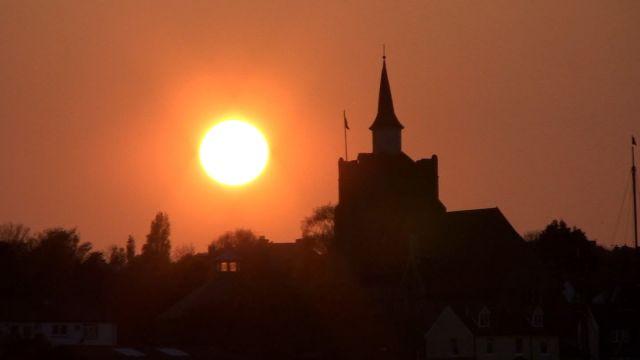 maldon sunset